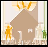 Zusammen Bewegen Logo